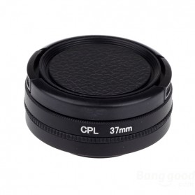 CPL Filter Lens Accessory 37mm for Xiaomi Yi - Black - 5