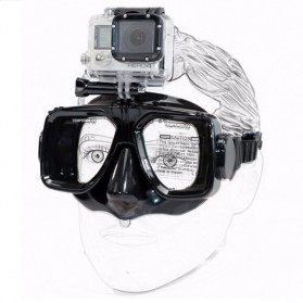 Kacamata Renang, Snorkeling & Selam Scuba Diving - Xiaomi Anti-Fog Diving Goggles for Action Camera - GP-DIV-GS1 - Black
