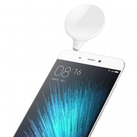 Xiaomi Selfie LED Flashlight 3.5mm Jack - White