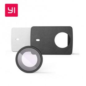 Xiaomi Lensa Proteksi & Casing Kulit Untuk Xiaomi Yi 2 4K / Xiaomi Yi Discovery (ORIGINAL) - White - 3