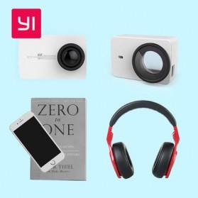 Xiaomi Lensa Proteksi & Casing Kulit Untuk Xiaomi Yi 2 4K / Xiaomi Yi Discovery (ORIGINAL) - White - 4