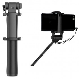 Xiaomi Tongsis Monopod Smartphone Wired Shutter 3.5mm - XMZPG04YM - Black