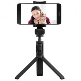 Xiaomi 3 in 1 Tongsis Monopod Tripod Mini Bluetooth Shutter For Smartphone - XMZPG01YM - Black