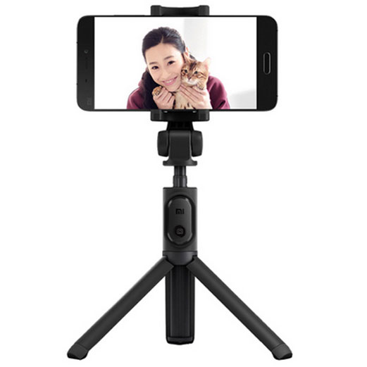 ... Xiaomi 3 in 1 Monopod Tripod Mini Bluetooth Shutter For Smartphone - Black - 1 ...