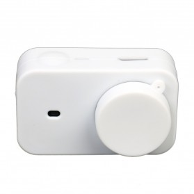 XBERSTAR Silicon Case & Lens Cap for Xiaomi Yi 2 4K - EGHA085 - Black - 5