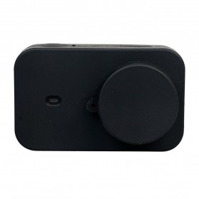 XBERSTAR Silicon Case & Lens Cap for Xiaomi Yi 2 4K - EGHA085 - Black - 8