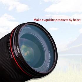 Zomei CPL Polarizer Filter Lens DSLR 55mm - Black - 5