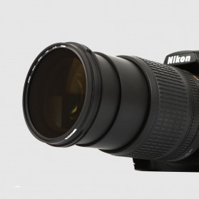 Zomei CPL Polarizer Filter Lens DSLR 55mm - Black - 9