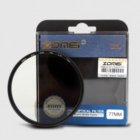 Zomei CPL Polarizer Filter Lens DSLR 58mm - Black - 8
