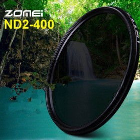 Zomei Variable ND Filter Fader Lens DSLR ND2-400 49mm