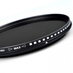 Zomei Variable ND Filter Fader Lens DSLR ND2-400 49mm - 2