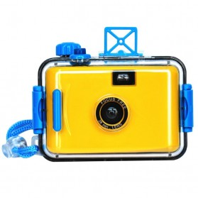 LOMO Waterproof Card Type 35mm Film Camera - Yellow