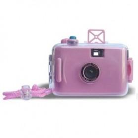LOMO Waterproof Card Type 35mm Film Camera - Pink