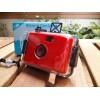 LOMO Waterproof Card Type 35mm Film Camera - Red