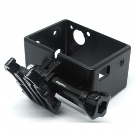 TMC BacPac Frame Mount Protect Shell for GoPro Hero 3 - HR241 - Black - 2