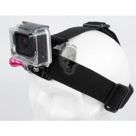 TMC Head Belt for GoPro / Xiaomi Yi / Xiaomi Yi 2 4K - HR37 - Black