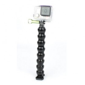 TMC 7 Joint Adjustable Flexible Neck Tripod for GoPro / Xiaomi Yi / Xiaomi Yi 2 4K - HR127V2-7 - Black