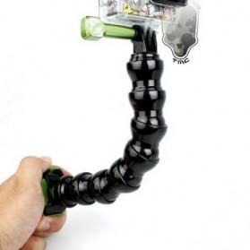 TMC 7 Joint Adjustable Flexible Neck Tripod for GoPro / Xiaomi Yi / Xiaomi Yi 2 4K - HR127V2-7 - Black - 2