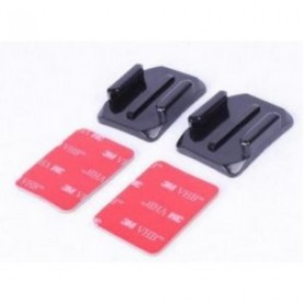 TMC Curved Surface Adhesive Sticky Mount 2pcs for GoPro - HR-69 - Black