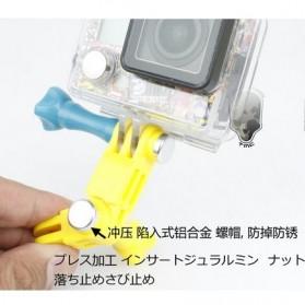 TMC Plastic Mount Three-Way Pivot Arm Assembly Extension for GoPro / Xiaomi Yi / Xiaomi Yi 2 4K - HR189 - Black - 3
