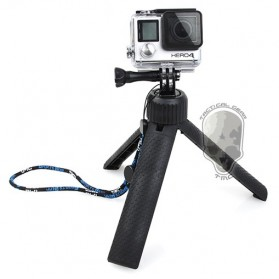 TMC Tripod Grip for GoPro / Xiaomi Yi / Xiaomi Yi 2 4K - HR245 - Black