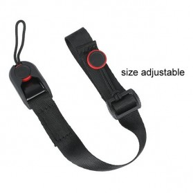 TMC Quick Release Camera Cuff Wrist Strap for GoPro / Xiaomi Yi / Xiaomi Yi 2 4K - CA003 - Black