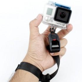 TMC Quick Release Camera Cuff Wrist Strap for GoPro / Xiaomi Yi / Xiaomi Yi 2 4K - CA003 - Black - 2