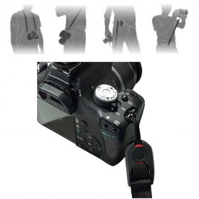 TMC Leash Camera Strap Sling for Digital Camera & Action Camera - CA001 - Black - 4
