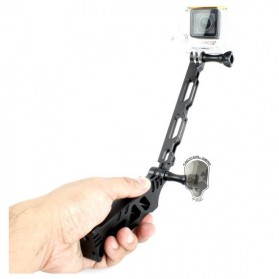 TMC Tactical Style Stand + Grip + Extender Set for GoPro / Xiaomi Yi / Xiaomi Yi 2 4K - HR167 - Black
