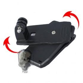 TMC 360 Clip for GoPro / Xiaomi Yi / Xiaomi Yi 2 4K - HR137 - Black