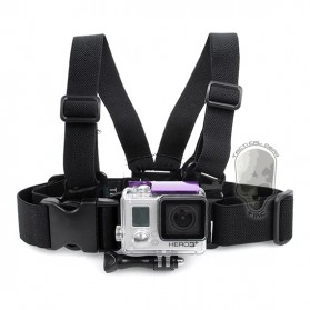 TMC Junior Chest Belt with Quick Release Buckle for GoPro / Xiaomi Yi / Xiaomi Yi 2 4K - HR185 - Black