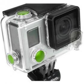 TMC Aluminium Anodized Color Button Set for GoPro - HR117 - Black - 2