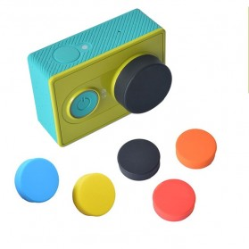 TMC Silicone Lens Cap For Xiaomi Yi - HR135 - Black - 2