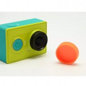 TMC Silicone Lens Cap For Xiaomi Yi - HR135 - Blue - 3