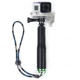 TMC Extendable Pole Monopod for GoPro / Xiaomi Yi / Xiaomi Yi 2 4K - HR231 - Green