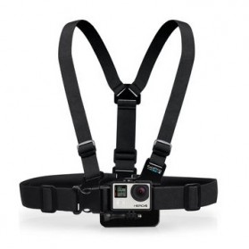TMC Chest Harness Belt Strap with Head Belt and Quick Clip Mount Set for GoPro / Xiaomi Yi / Xiaomi Yi 2 4K - EBL019 - Black - 2