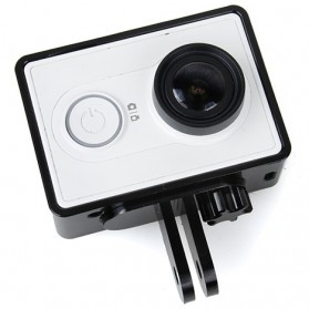 TMC Aluminium Side Frame for Xiaomi Yi Action Camera - HR285 - Black