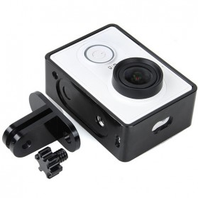 TMC Aluminium Side Frame for Xiaomi Yi Action Camera - HR285 - Black - 3