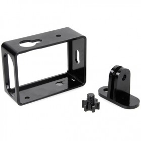 TMC Aluminium Side Frame for Xiaomi Yi Action Camera - HR285 - Black - 4