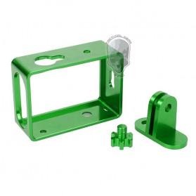 TMC Aluminium Side Frame for Xiaomi Yi Action Camera - HR285 - Green - 4