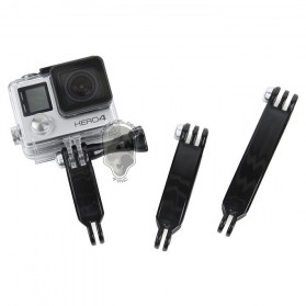 TMC Extension Arm Set for GoPro / Xiaomi Yi / Xiaomi Yi 2 4K - HR279 - Black