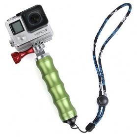 TMC Module Aluminium Grip Monopod for GoPro / Xiaomi Yi / Xiaomi Yi 2 4K - HR295 - Green