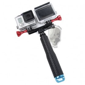 TMC Dual Mount for GoPro / Xiaomi Yi / Xiaomi Yi 2 4K - HR297-BK - Black - 3