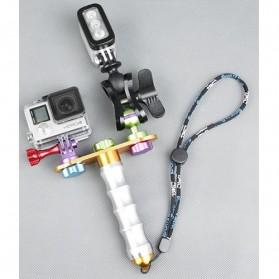 TMC Aluminium Module Monopod with Ball Clip for Camera GoPro / Xiaomi Yi / Xiaomi Yi 2 4K - HR303