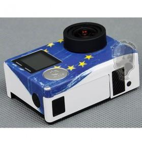 TMC PlanC Europe Flag Sticker for GoPro - HR291 - 3
