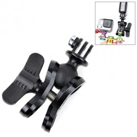 TMC Butterfly Connector with Ball Adapter Mount for GoPro / Xiaomi Yi / Xiaomi Yi 2 4K - HR311 - Black