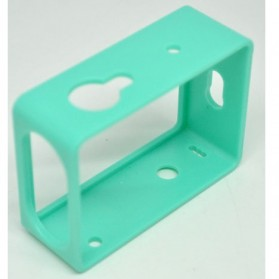 TMC Plastic Side Frame for Xiaomi Yi Action Camera - HR319 - Green - 2