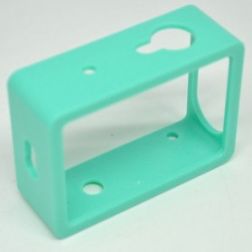 TMC Plastic Side Frame for Xiaomi Yi Action Camera - HR319 - Green - 3