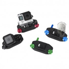 TMC Strap Mount Set GoPro & GoPro Session / Xiaomi Yi / Xiaomi Yi 2 4K - HR331 - Black