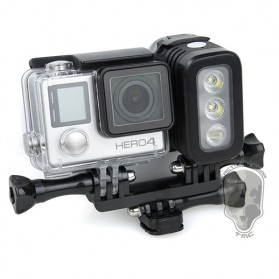 TMC Camera Headlight GoPro Compatible 3 Cree LED 280 Lumens - HR325 - Black - 4